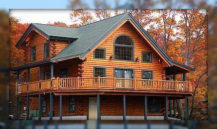 Andover Asheville Log Home Kit