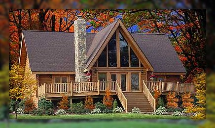 Ashland Asheville Log Home