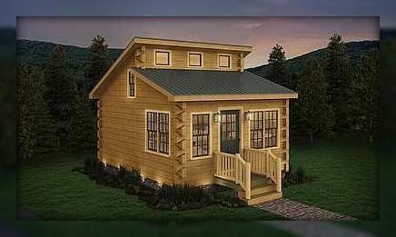 BuckCreek Asheville Log Home Kits