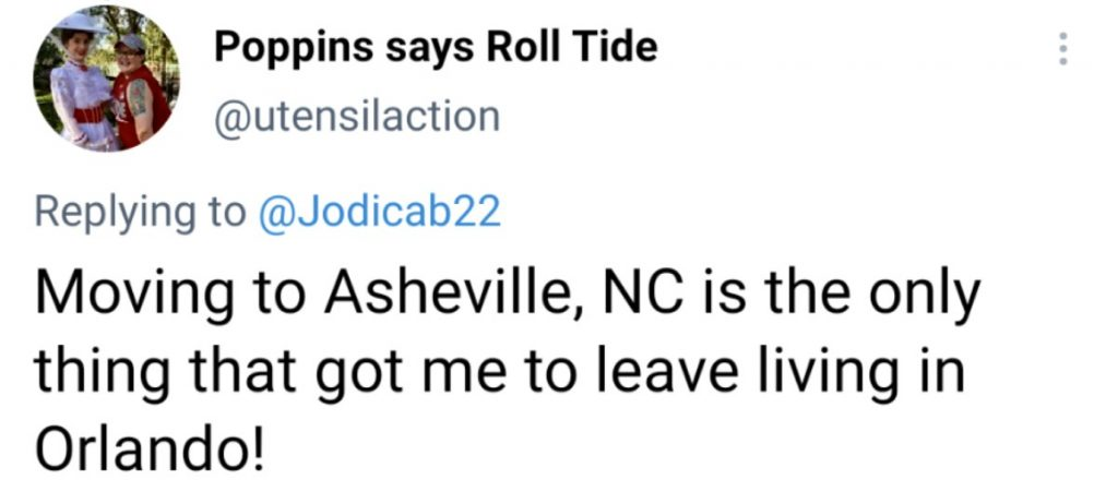 Moving to Asheville North Carolina from out of town